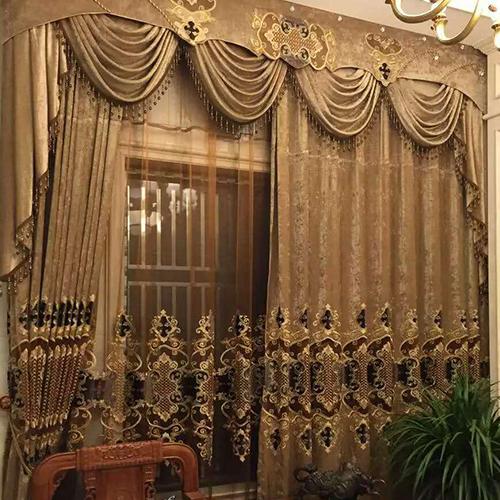 布艺遮光窗帘